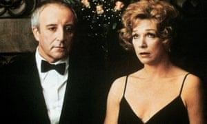 Peter Sellers and Shirley MacLaine in Being There.