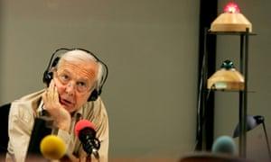 John Humphrys in the Today studio in 2005.