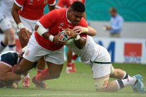 Rugby World Cup, USA v Tonga