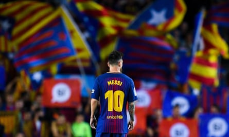 Leo Messi, the king of Catalonia.