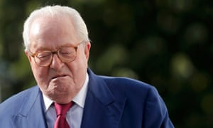 French far-right National Front founder Jean-Marie Le Pen