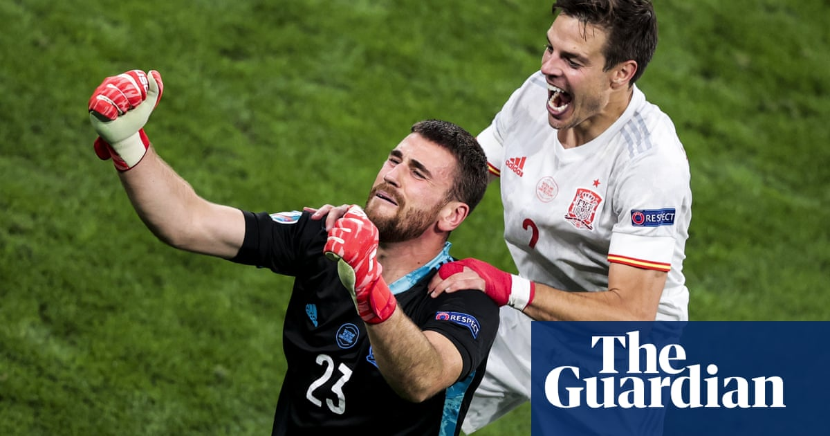 Unai Simón and Spain complete redemption tale in shootout