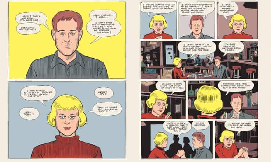Unexpectedly touching … Patience by Daniel Clowes.