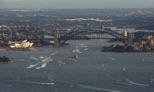A 39-year-old woman died after being found unconscious in the bathroom of a cruise ship on Sydney Harbour on Saturday.