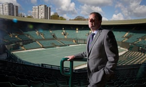 Philip Brook, chairman of the All England Lawn Tennis Club.