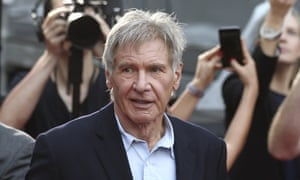 A film production company has been fined over a leg injury the star sustained while filming the latest Star Wars movie.