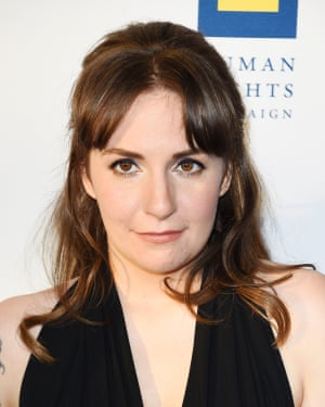 Dunham at the the Human Rights Campaign Gala Dinner in March.