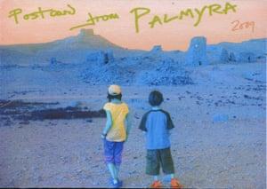 Postcard from Palmyra by John Keane