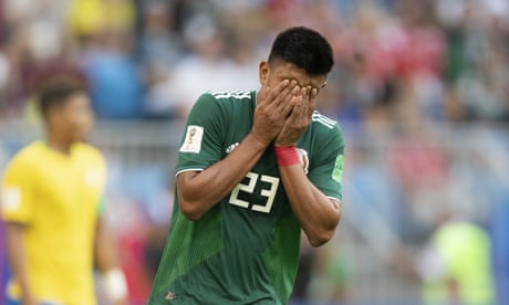 Mexico's mistake at the World Cup was to peak at the first obstacle