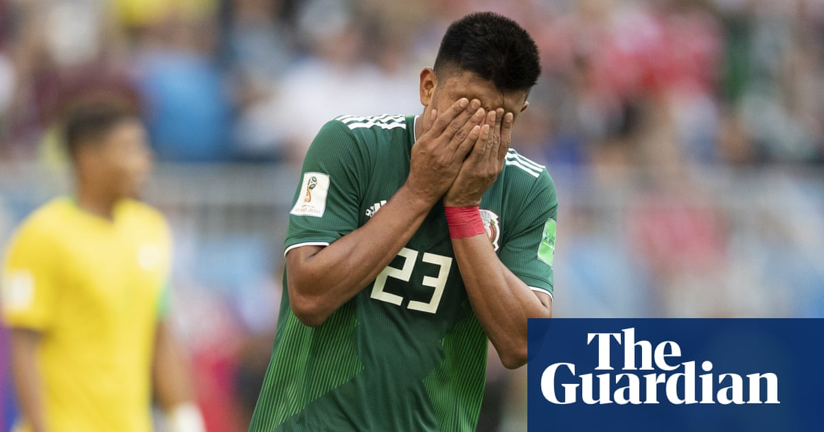 7f0654943d8 Mexico's mistake at the World Cup was to peak at the first obstacle ...