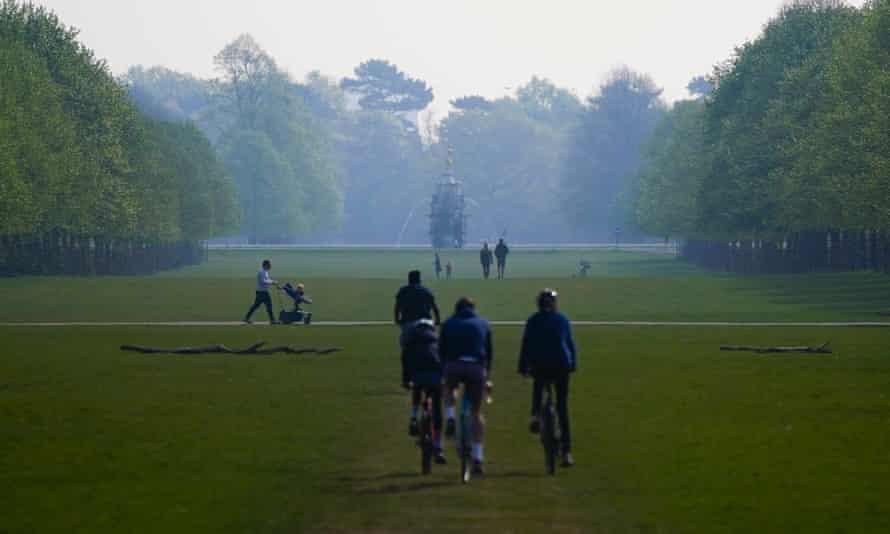 Bushy Park, London.