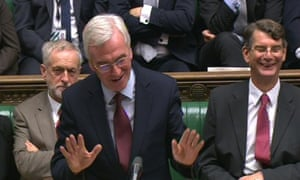 Shadow chancellor John McDonnell speaks during the debate in the House of Commons, London on the Government's updated Charter of Budget Responsibility.