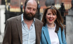May's former advisers Nick Timothy and Fiona Hill.
