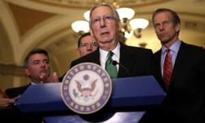 Mitch McConnell: 'We have an existing intelligence committee looking at all aspects of what may have been done last year related to the Russians or the campaign and we'll leave it there.'