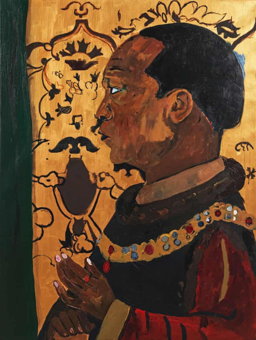 The artist's self-portrait as Henry V.