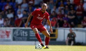 Fabinho is getting used to a slightly different role at Liverpool.