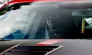 Paul Pogba was in Manchester on Monday for his medical at United's training ground.