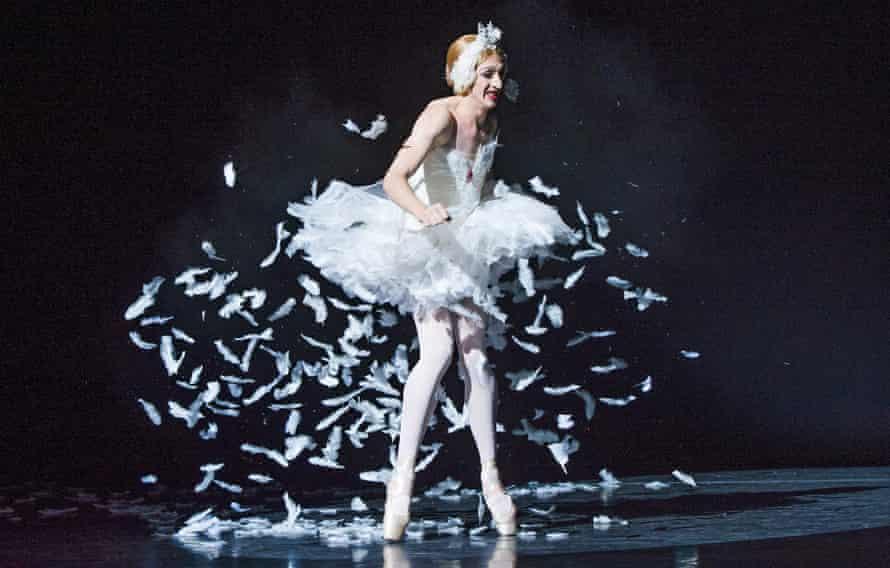 Joshua Thake of Les Ballets Trockadero de Monte Carlo.