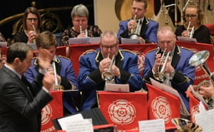 Old Silkstone brass band