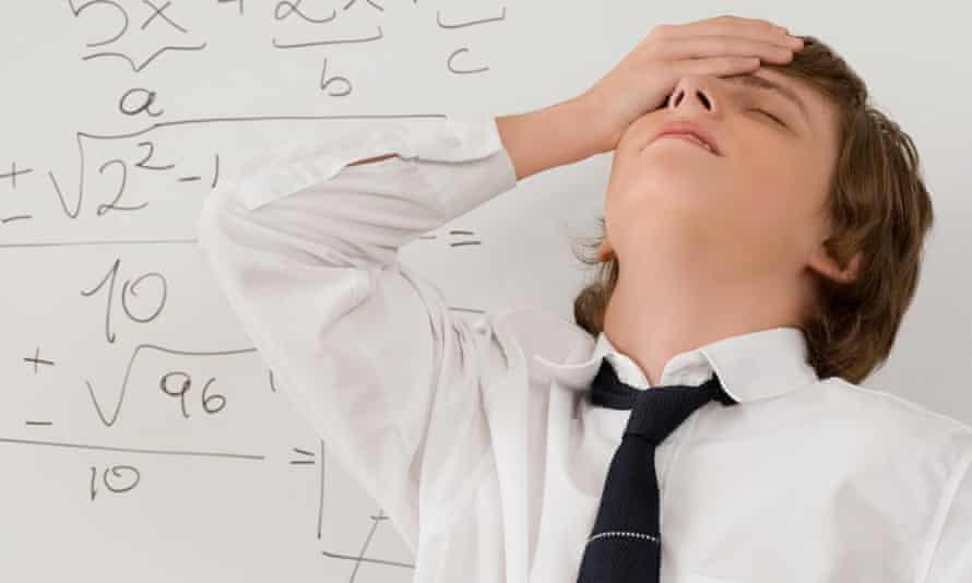 Maths stress
