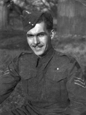 Richard Hughes, sergeant in the BEF