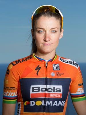Head shot of cyclist Lizzie Deignan (formerly Lizzie Armistead)