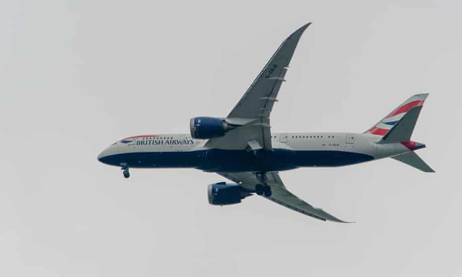 British Airways now offsets carbon emissions on all domestic flights