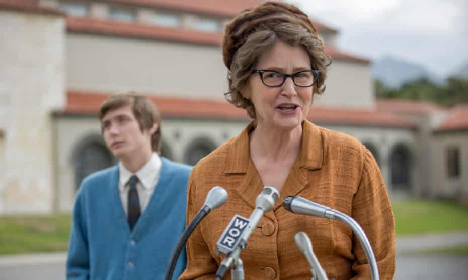 'The problem here is that most of the movie's playful snap is completely at odds with the vicious conclusion' ... Melissa Leo in The Most Hated Woman in America