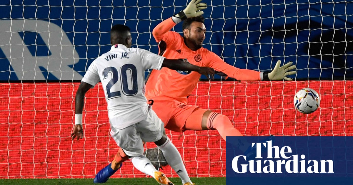 Vinícius Júnior wrestles Real Madrid to victory while Atalanta crush Lazio - the guardian
