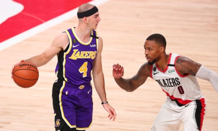 Alex Caruso went undrafted out of college but has established himself at the Lakers