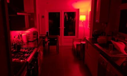 Red Alert kitchen