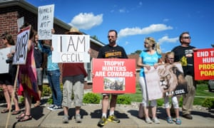 Cecil the Lion protest