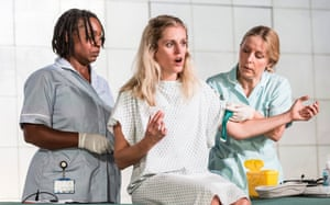 Denise Gough in People, Places and Things, by Duncan Macmillan.