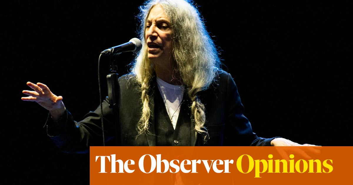 Words don't fail Patti Smith. That's why she is still my superstar