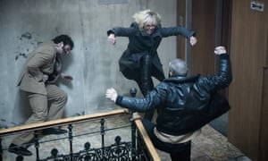 'Her grit and determination were incredible' … Charlize Theron in Atomic Blonde.