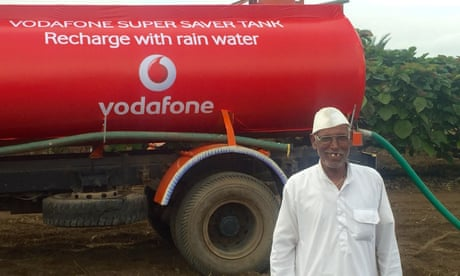 Rainwater-harvesting billboards offer lifeline to India's drought-hit farmers