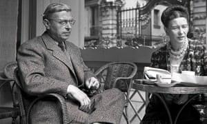 Jean-Paul Sartre and Simone de Beauvoir in 1940