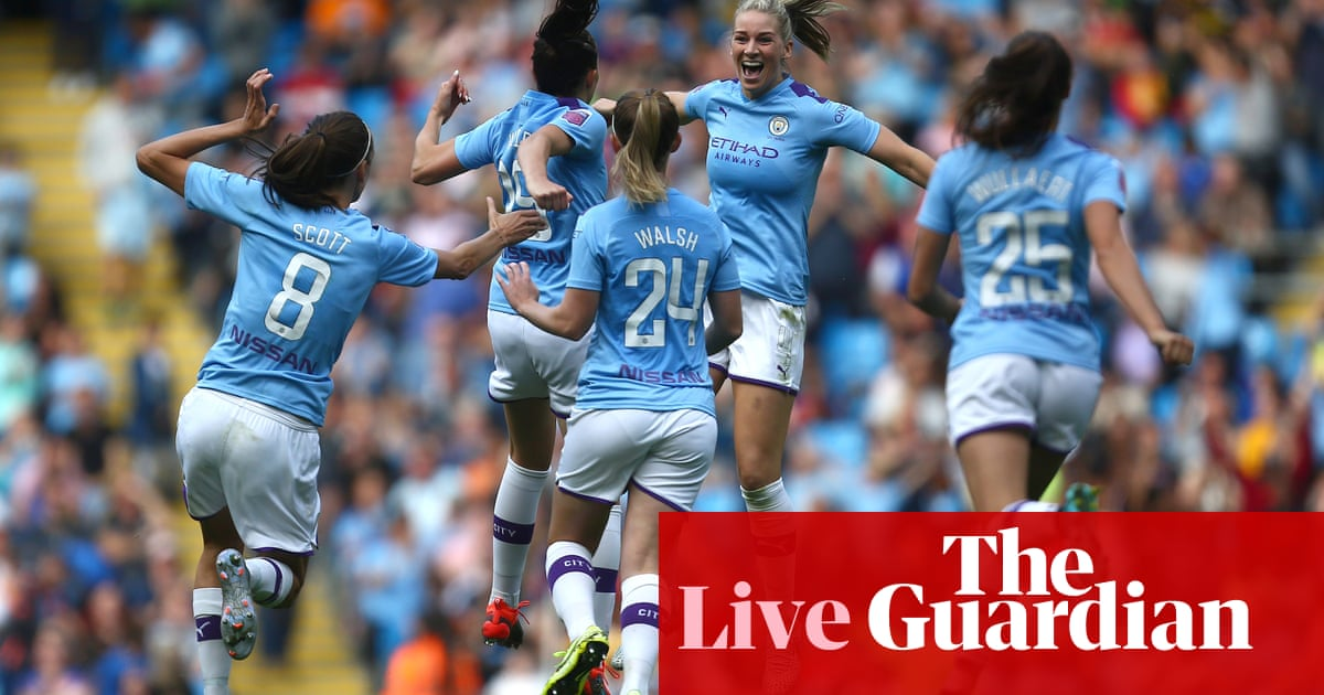 Manchester City 1-0 Manchester United: WSL opener – as it happened