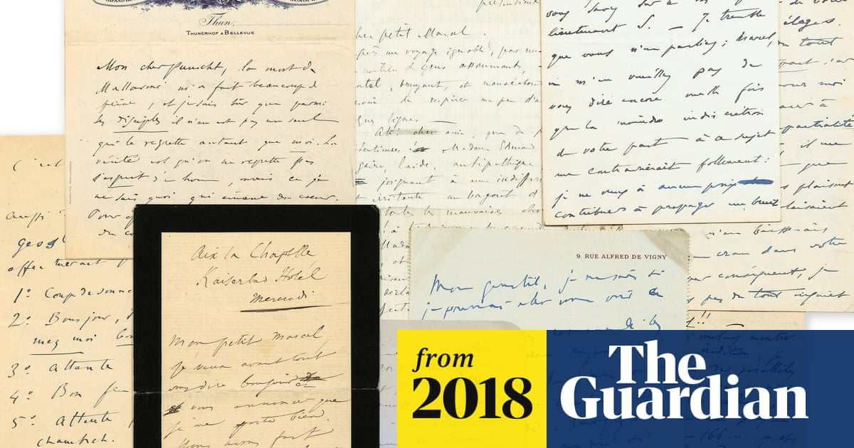 Proust's love letters to composer go on display before Paris
