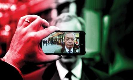 Former Ukip leader Nigel Farage.