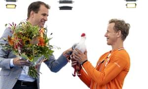 The Dutch gymnast Epke Zonderland