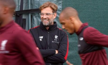 Jürgen Klopp all bubbly as Liverpool take on PSG free of Kiev hangover