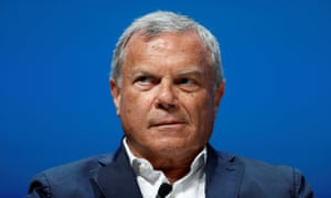 Sir Martin Sorrell at the Cannes Lions International Festival of Creativity in June