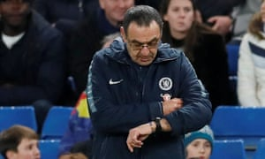 Time appears to be running out for Maurizio Sarri to keep his job at Chelsea.