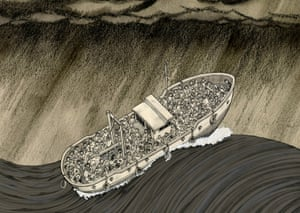 Image from A Perilous Journey by illustrator Benjamin Dix