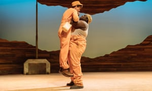 Chris Ashby and Henry Mettle in holes