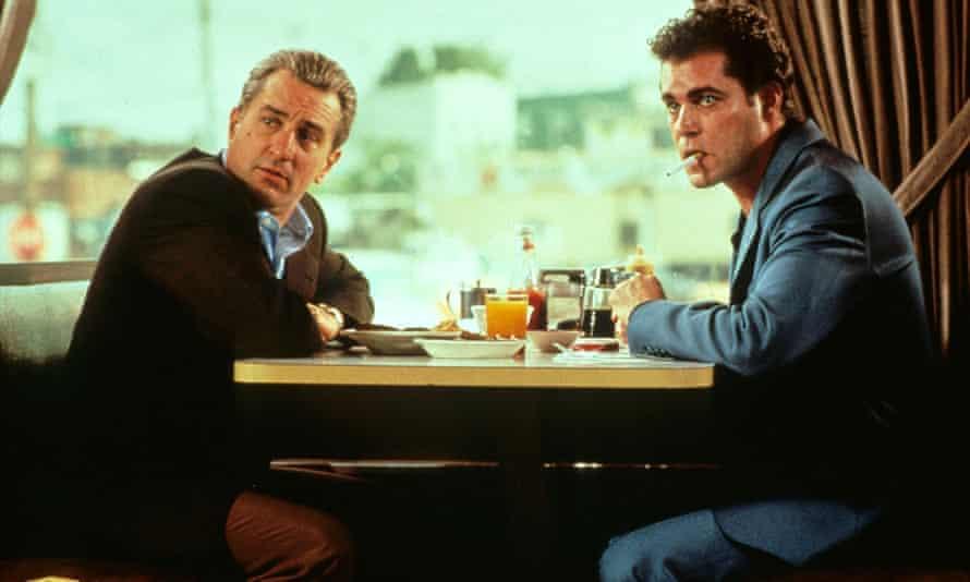 'Swaggering energy': Robert De Niro and Ray Liotta in GoodFellas