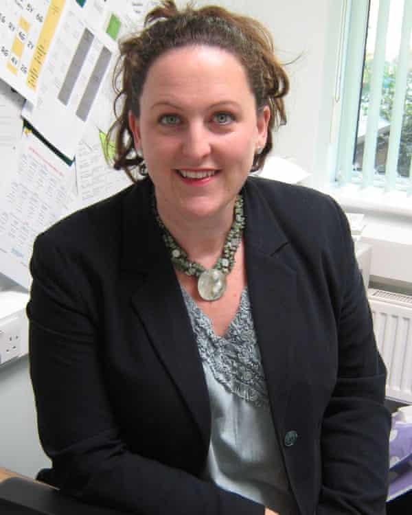 Kate Baptiste, head of St Monica's Catholic primary school in London.