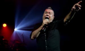 Jimmy Barnes performing in Sydney last year.