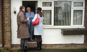 Gareth Snell MP and Ruth Smeeth MP visit voters in Stoke-on-Trent.